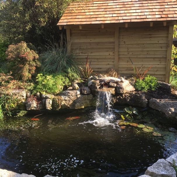 Pick from our assortment of stunning water features.